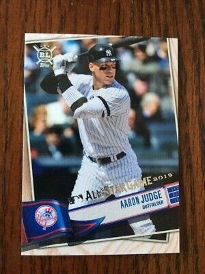 2019 Topps All Star Fanfest Playball Redemption Card Yankees Aaron Judge #Aswr-2