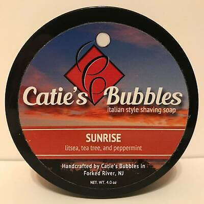 Sunrise Shaving Soap - by Catie's Bubbles (Pre-Owned)