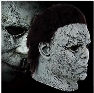 NEW Halloween Michael Myers Mask Movie Horror Cosplay Adult Latex Full Face Prop