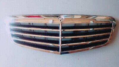 2010-2016 for Mercedes Benz E Class W212 Assembly Black Grille with Chrome Frame