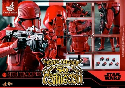 2019 SDCC Star wars 1/6 Sith Trooper fig  Hot Toys Rise of Skywalker Exclusive