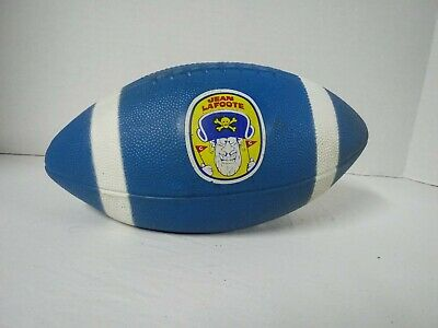 Extremely rare CAP'N CRUNCH JEAN LAFOOTE FOOTBALL! Promotional item, 1960s-70s
