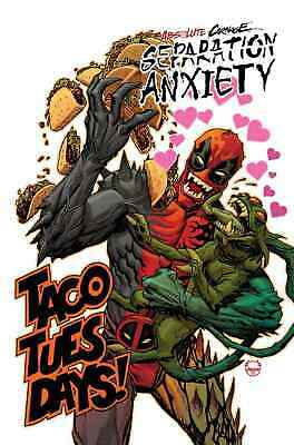 Absolute Carnage Separation Anxiety 1 1:25 Dave Johnson Variant Nm