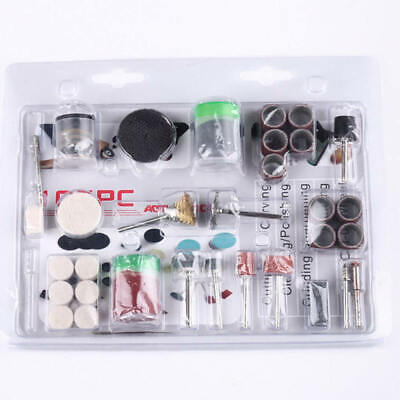 105pcs Set Mini Electric Drill Grinder Rotary Tool Grinding Polishing Useful Kit