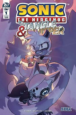Sonic The Hedgehog Tangle & Whisper #1 Cover A - Idw - Release Date 31/07/19