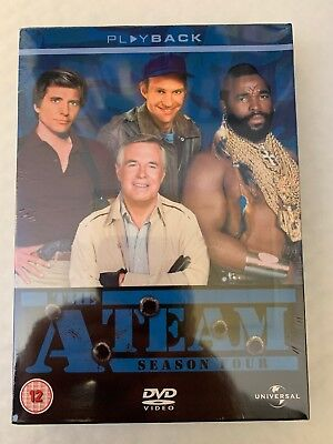 THE A-TEAM - George Peppard, Mr  T, Dwight Schultz and Dirk Benedict