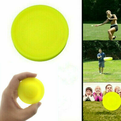 Creative Mini Pocket Flexible Soft New Spin in Catching Game Flying Disc Toys