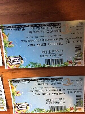 4 X Kendal calling Tickets 2019