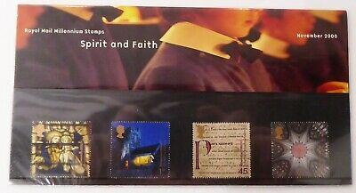 GB Presentation Pack 317 2000 Spirit & Faith