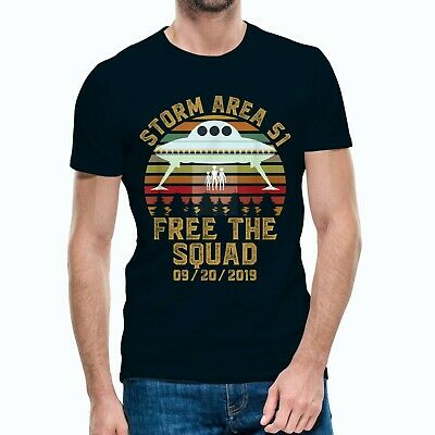 Storm Area 51 Free The Squad 9/20/2019 Apparel T-Shirt