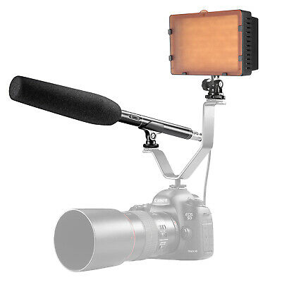 Neewer 160 LED CN-160 Video Light with 14.17 inches Uni-Directional Microphone
