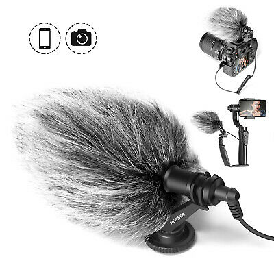 Neewer Video Microphone Vlogging Livestream Recording Mic for Canon DSLR Camera