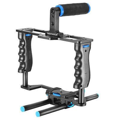 Neewer Alluminum Video Cage Kit for Nikon Canon 5D Mark II and Other DSLR Camera