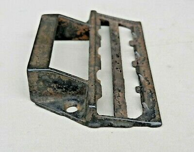 Old Antique RECTO Solid Brass Closed End Wrench Rare Tool Valve Handle