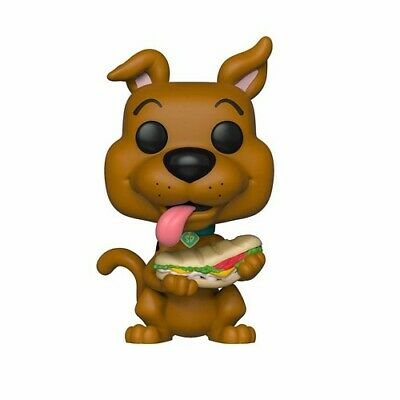 Scooby Doo - Scooby Doo W/ Sandwich - Funko Pop! Animation: (2019, Toy NEUF)