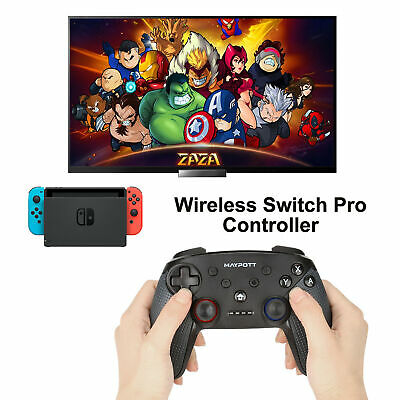 Wireless Controller Gamepad Joypad Joystick Remote for Nintendo Switch Pro