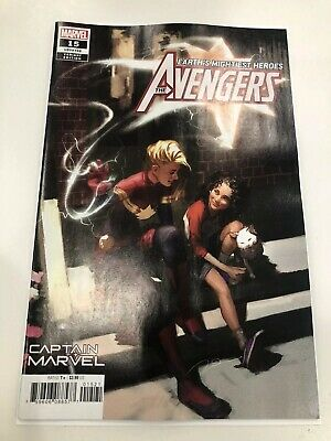 Avengers #15 - Captain Marvel & Kamala Khan Parel Variant (NM and Unread)