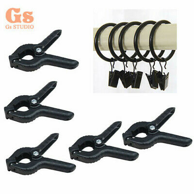 5pcs Studio Photo Video Photography Background Clips & Backdrop Clamps Set black