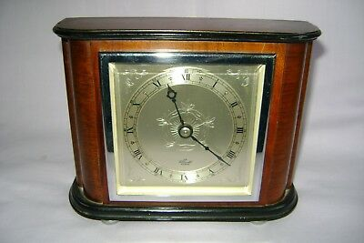 Vintage Mahogany  Elliott Mantel Clock In Good Working Order