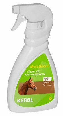 Kerbl 299720 Muscablock Spray Anti-Mouches Pour Cheval 500 Ml (015)