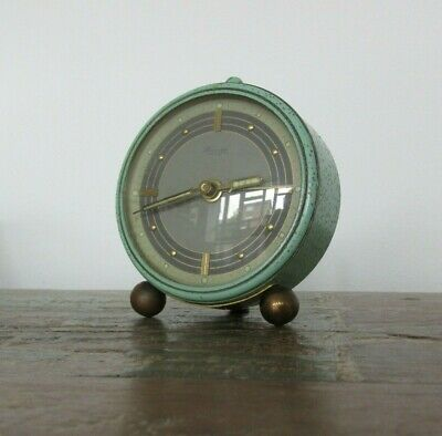 Vintage KIENZLE Travel Alarm Clock - 1930s/40s working