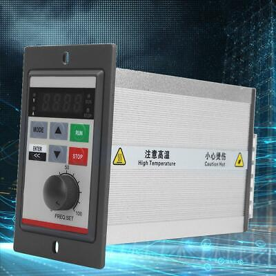 Variable Frequency Drive VFD Single Phase Micro Motor Speed Inverter 0.4KW 220V