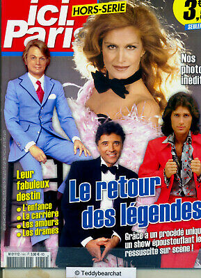 DALIDA_CLAUDE FRANCOIS_MIKE BRANT_SACHA DISTEL HS Special Issue NEUF / NEW ©TBC
