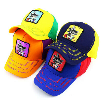 Kids Dragon Ball Embroidery Baseball Caps Children Snapback Boy Girl HipHop Hats