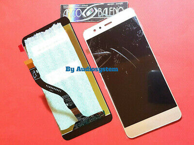 P1 DISPLAY LCD+TOUCH SCREEN HUAWEI per P10 LITE ORO GOLD VETRO WAS-LX1A SCHERMO
