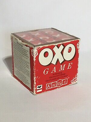 Vintage OXO Advertising Game