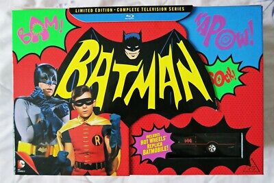 NEW Batman The Complete TV Series Limited Edition Blu-ray 1966 Adam West VINTAGE