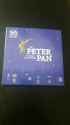 BRAND NEW. Isle Of Man 2019 Peter Pan 50P Coin Set. UNC.