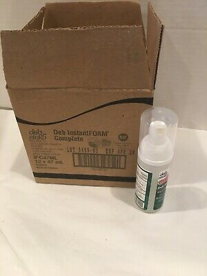 Case of 12 Deb Stoko3469-03 InstantFOAM Foam Hand Sanitizer 46 ml