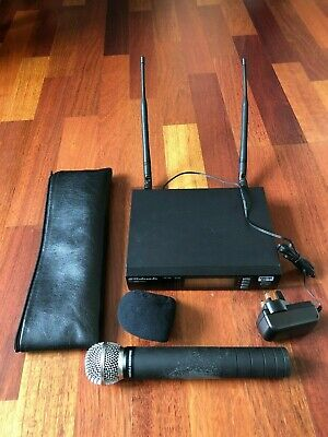 LD Systems WS1000G2HHD UHF PLL Diversity Wireless Receiver with Microphone