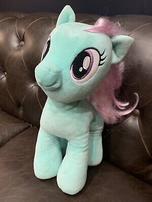 "Build A Bear Exclusive My Little Pony Minty Mint Green Plush 16"" Fast Free Ship"