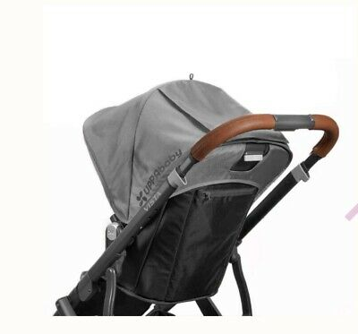 UPPABaby Vista Leather Handle Covers Saddle 2015 Onwards
