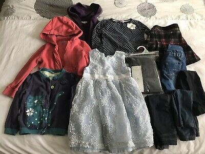 Bundle Of Girls 3-4 Clothes - Next, f&f, Mothercare, H&M - 11 Items