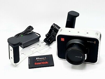 BLACKMAGIC DESIGN CINEMA Camera EF 2 5K-Camcorder - Schwarz - EUR