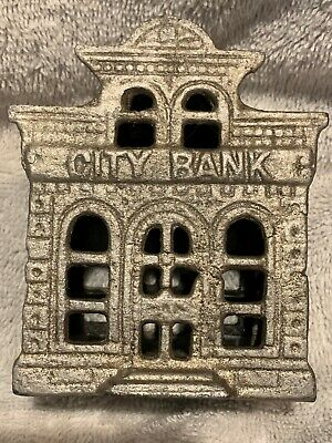 Cast Iron City Bank, With Director's Room On Top Building Still Bank