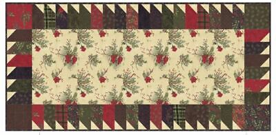 Winter Manor Winter Fun Table Runner Kit by Holly Taylor & Doug Leko