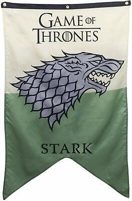 "New Game Of Thrones Wall Banner - House Stark (30"" x 50"")"