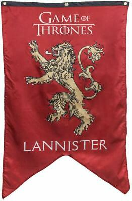 "New Game Of Thrones Wall Banner - House Lannister (30"" x 50"")"