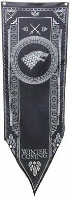 """New Game Of Thrones Tournament Banner - House Of Starks (18"""" x 60"""")"""