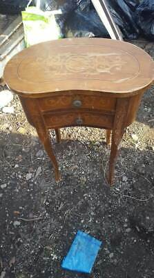 Kidney Bean Side Table 2 draws