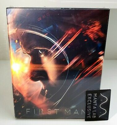 FIRST MAN Blu-ray STEELBOOK [MANTA LAB]  LENTICULAR FULLSLIP OOS/OOP <#029/1000>