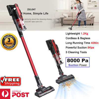 Cordless Handheld Stick Vacuum Cleaner Rechargeable Bagless Handstick 8000Pa AU