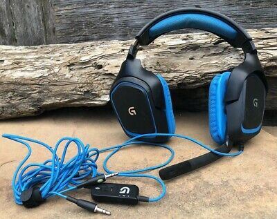 LOGITECH G430 WIRED Gaming Computer Headset Read! - $15 99