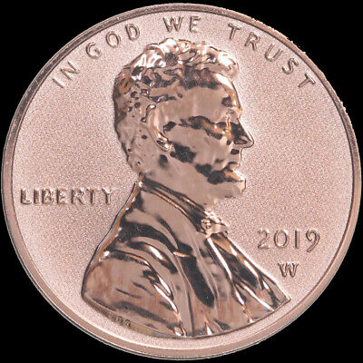 2019-W Reverse Proof Lincoln Cent