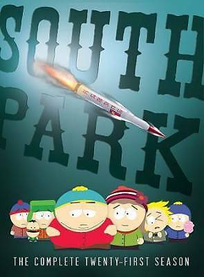 NEW!!! South Park: The Complete Twenty-First Season (DVD, 2018, 2-Disc Set)