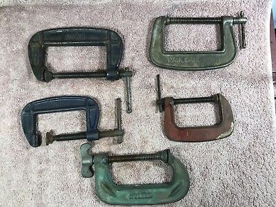 Old G Clamps